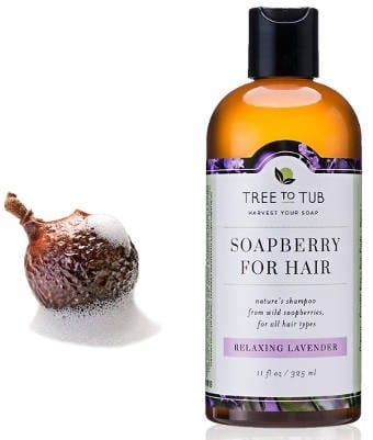 Natural moisturizing shampoo for sensitive skin