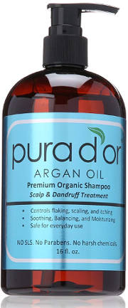 Organic scalp and dandruff treatment shampoo
