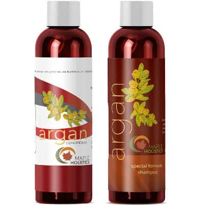 Argan Oil Shampoo and Hair Conditioner Set from Maple Holistics