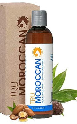 Tru Moroccan Oil Natural Hair Conditioner for Dry and Damaged Hair